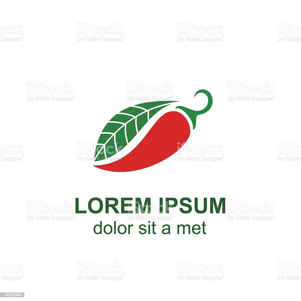 pepper vector isolated on light background vector art illustration