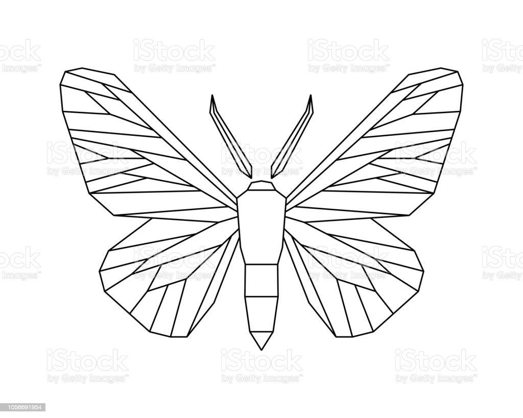 ふりかけられたガbiston Betularia白のベクトルのアイコン アイコンの