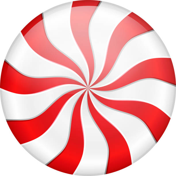 peppermint candy - pfefferminze stock-grafiken, -clipart, -cartoons und -symbole