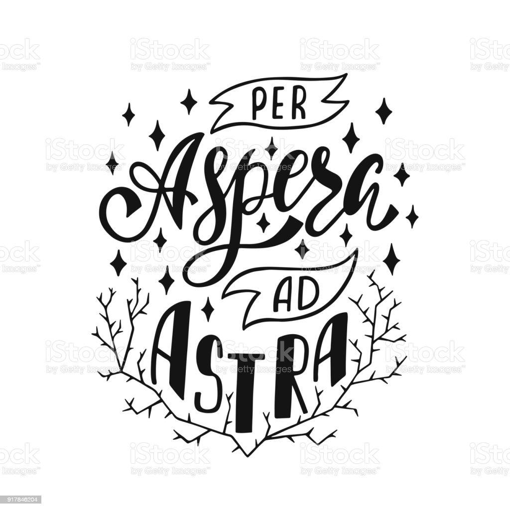 Astra in latin