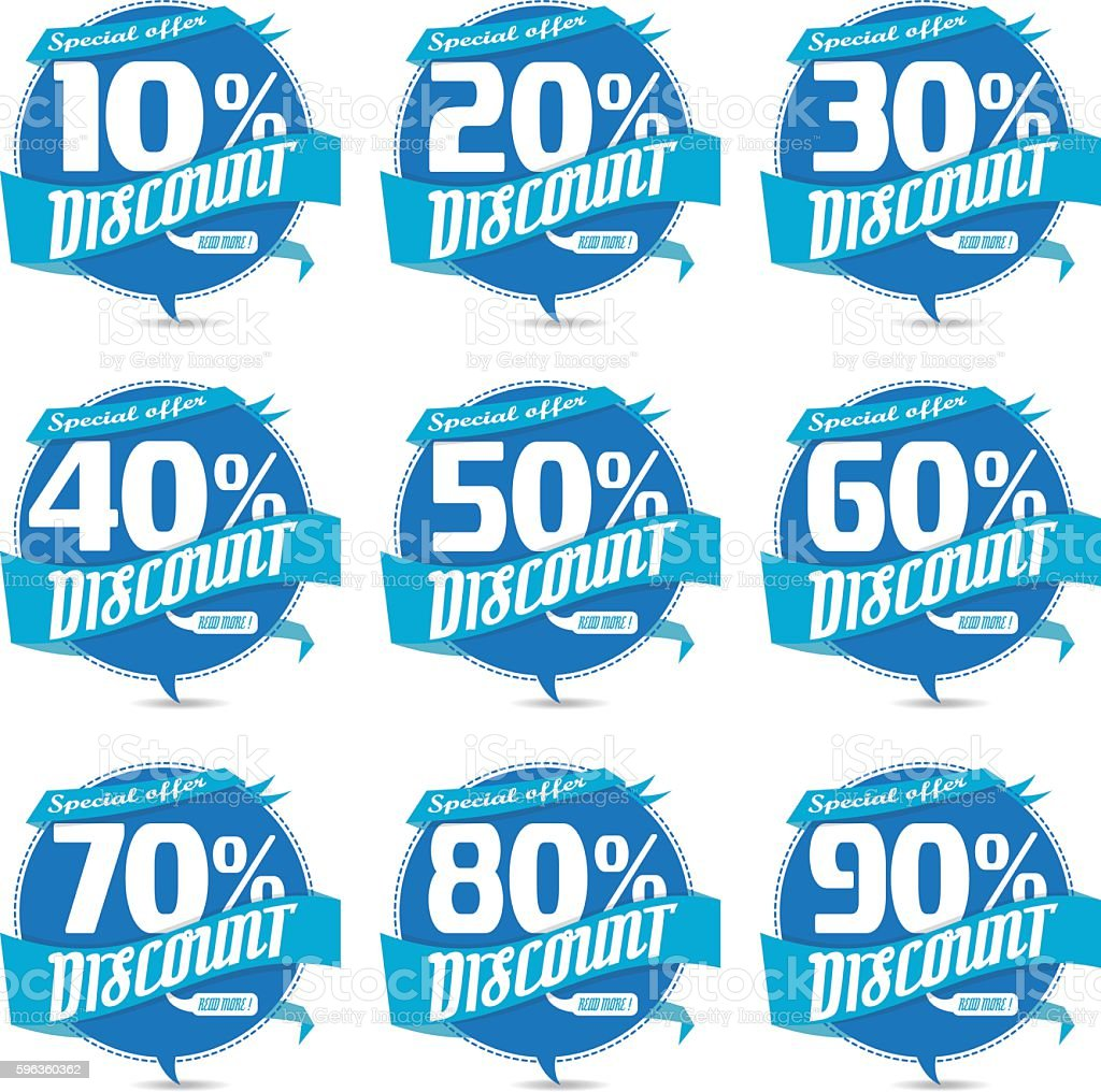 Percent discount sign icon Sale business badge offer label vector royalty-free percent discount sign icon sale business badge offer label vector stock vector art & more images of advertisement