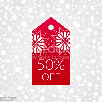 813a83e11 874898862istock 50 por ciento de icono de vector de etiqueta de ir de  compras. SÃmbolo