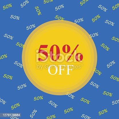 50 percent off