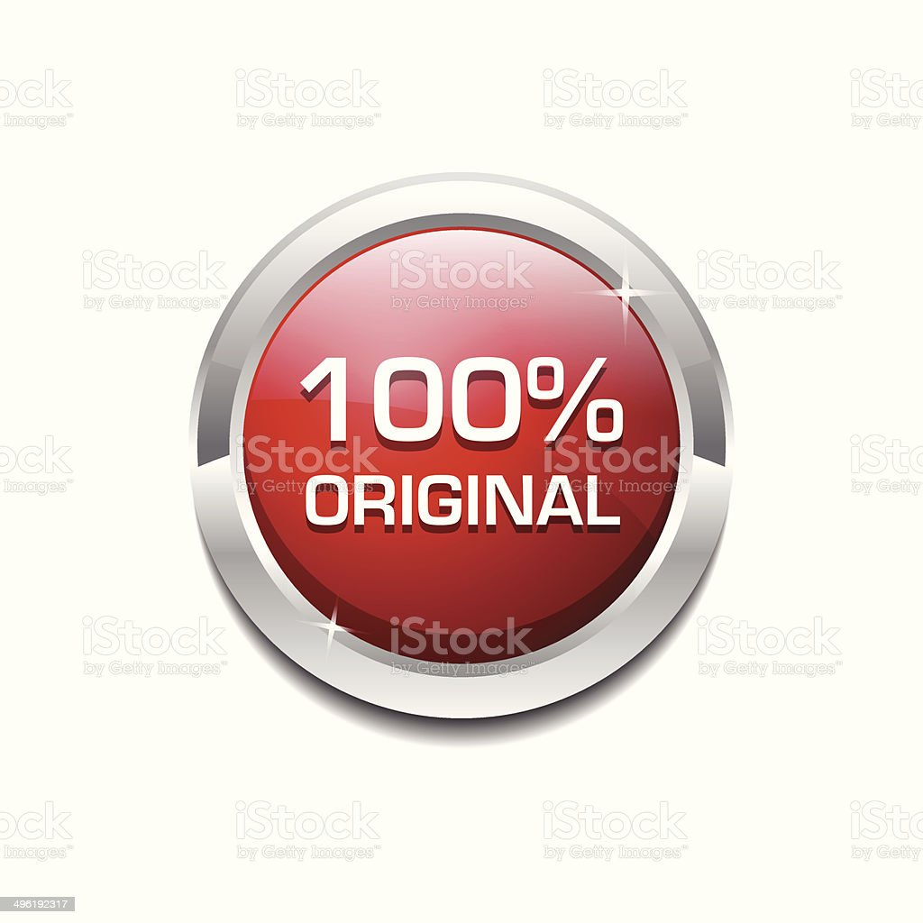 timeless design a1e19 08522 100 Percent Original Glossy Shiny Circular Vector Button - Illustration .