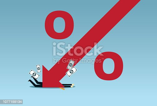 Arrow Symbol, Moving Down, Finance, Reduction, Falling