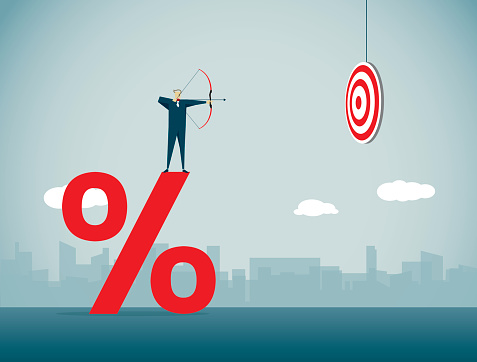 Percentage Sign Stock Illustration - Download Image Now