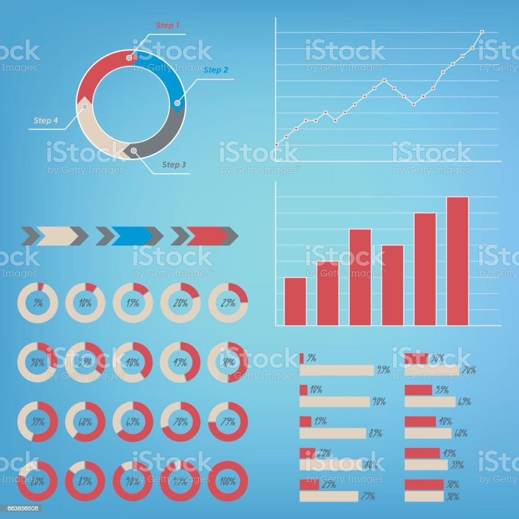 25 30 Bing Website: Percentage Vector Infographics 5 10 15 20 25 30 33 35 40