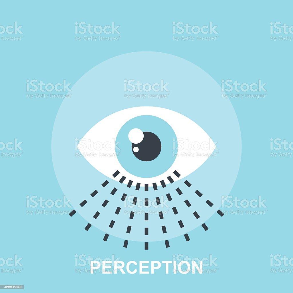 Perception vector art illustration