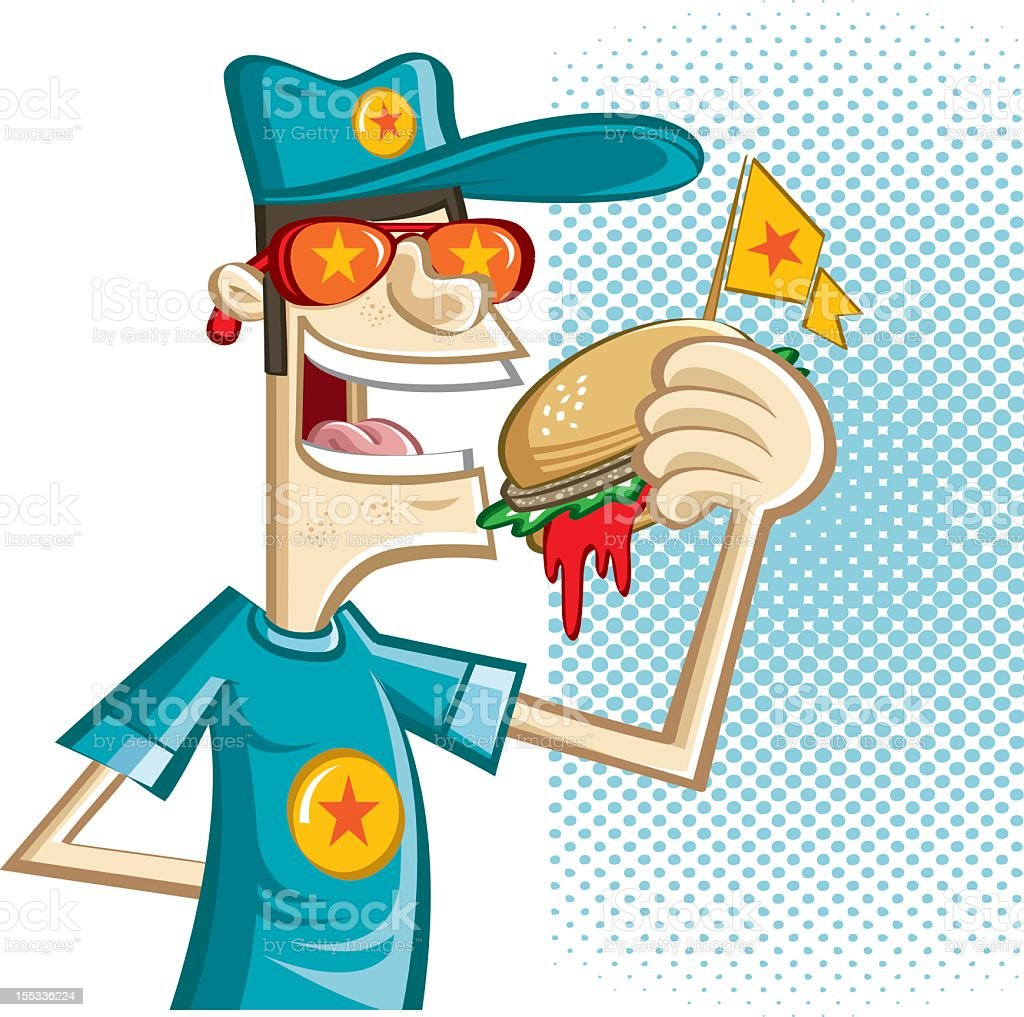 perfect burger royalty-free perfect burger stock vector art & more images of american culture
