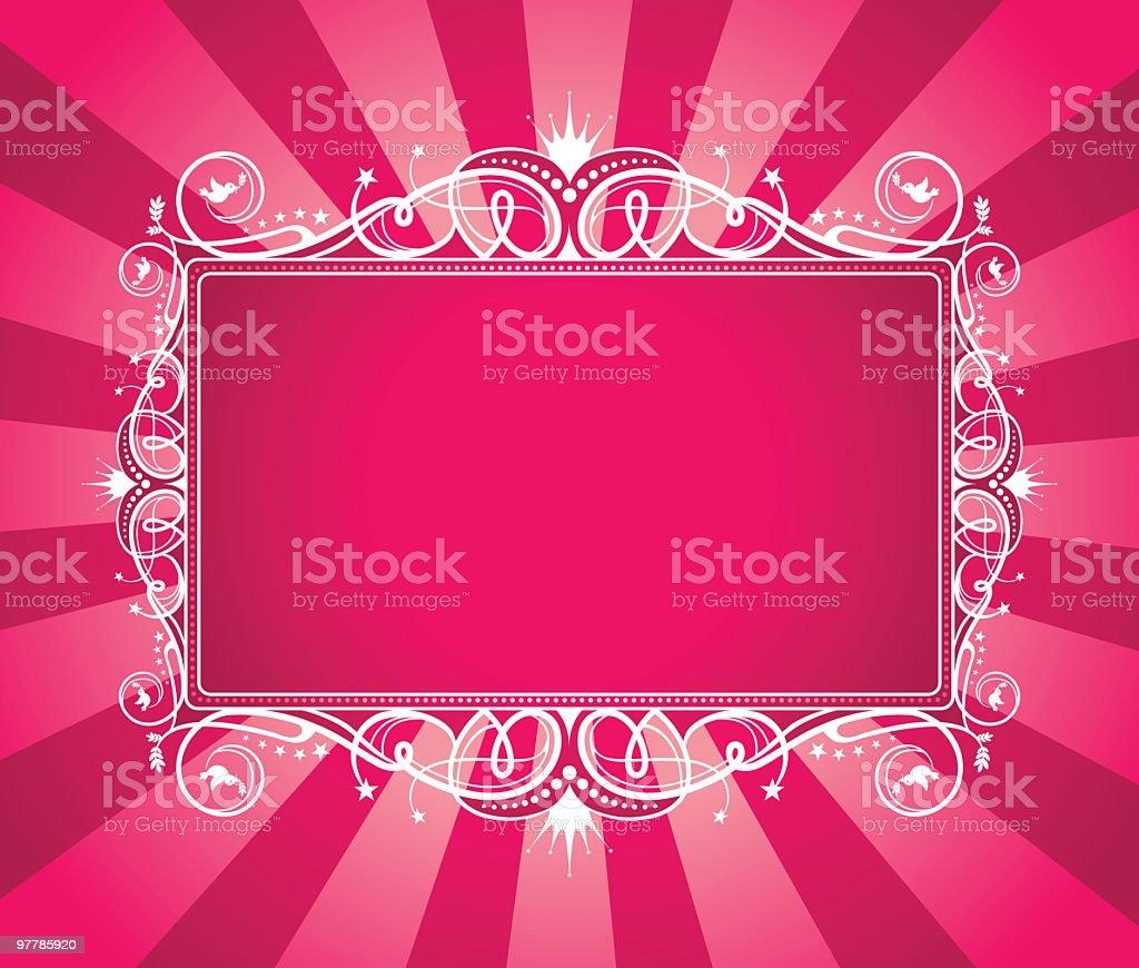 Perfect Princess royalty-free stock vector art