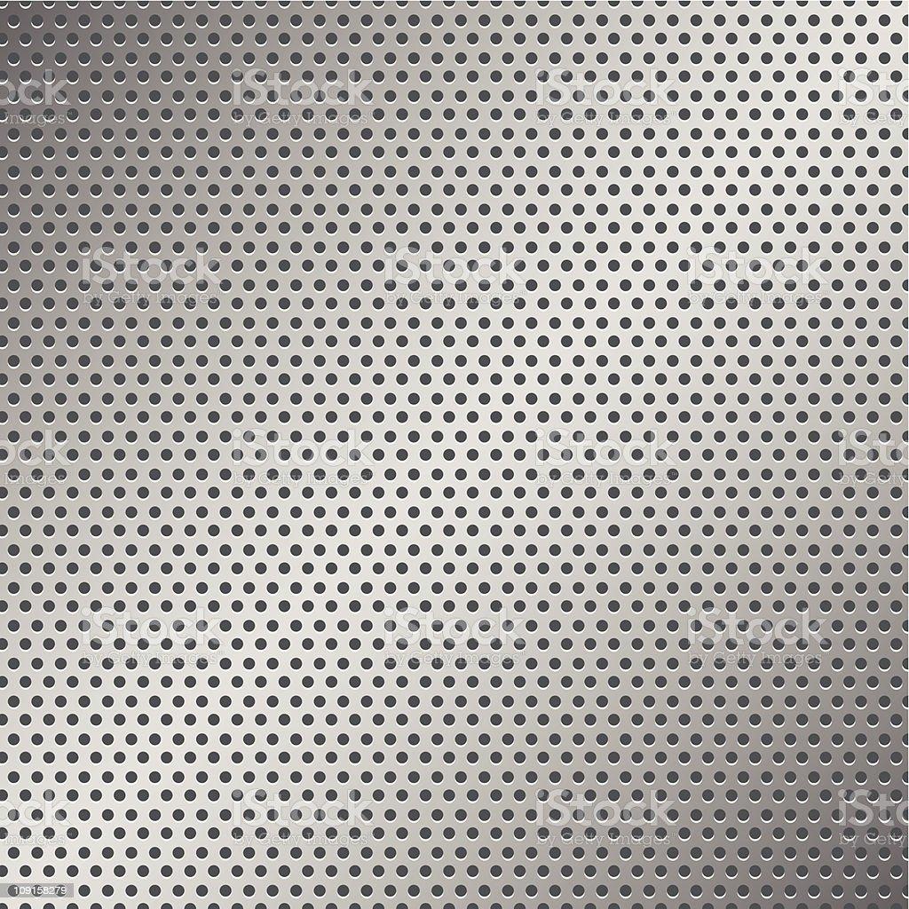 Perforated Metal Pattern vector art illustration