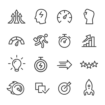 Performance Icons - Line Series