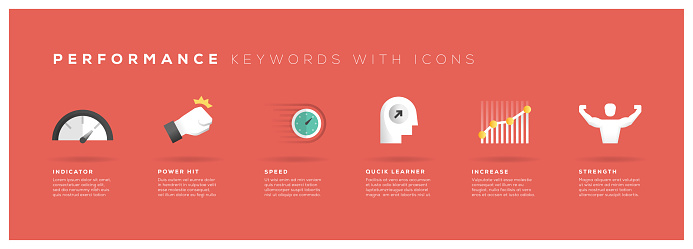 Performance Keywords with Icons