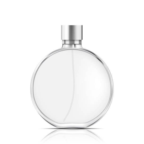 illustrazioni stock, clip art, cartoni animati e icone di tendenza di perfume bottle isolated - profumi spray