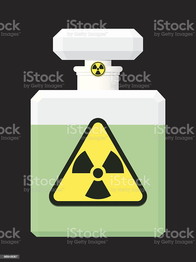 Perfume bottle with green liquid and radioactive symbol royalty-free perfume bottle with green liquid and radioactive symbol stock vector art & more images of beauty product