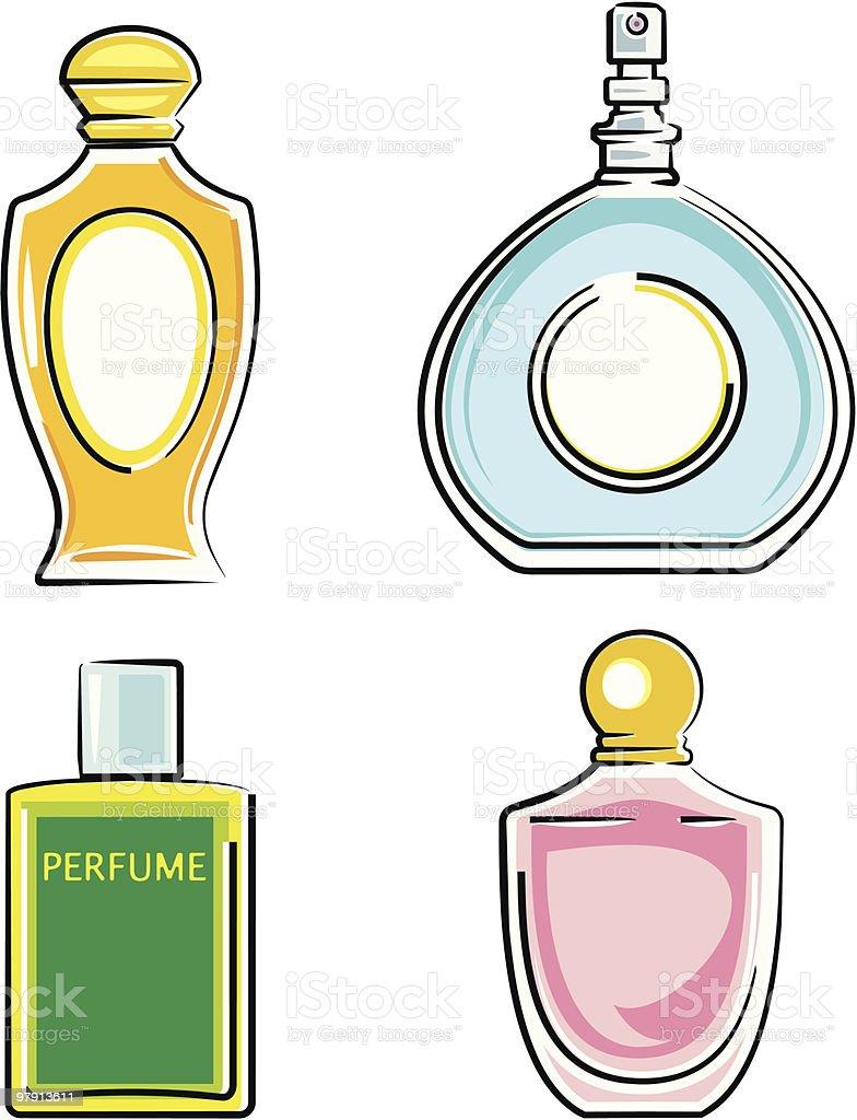 Perfume bottles royalty-free perfume bottles stock vector art & more images of beauty