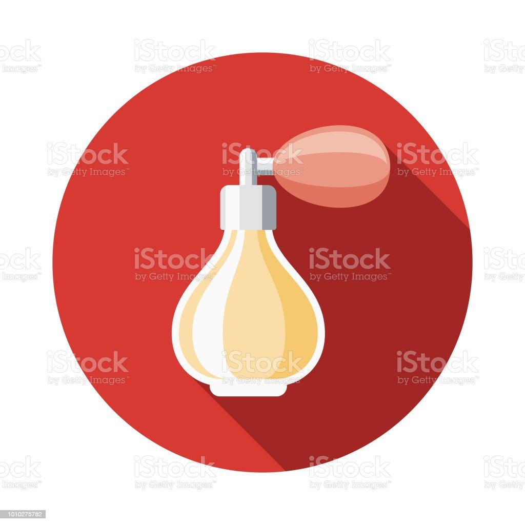 Perfume Design plano França ícone - ilustração de arte em vetor