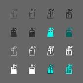 Perfume Icons Multi Series Vector EPS File.