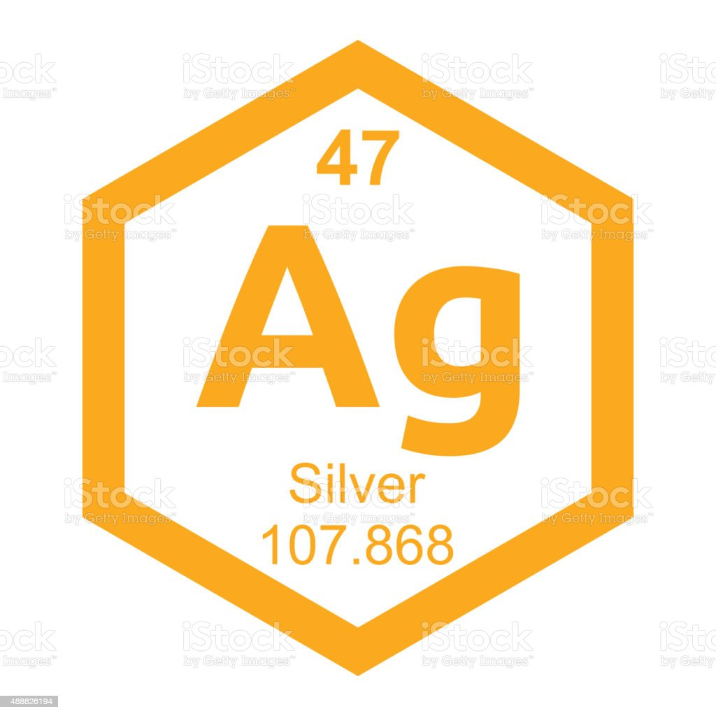Periodic table silver stock vector art 488826194 istock periodic table silver royalty free stock vector art gamestrikefo Image collections