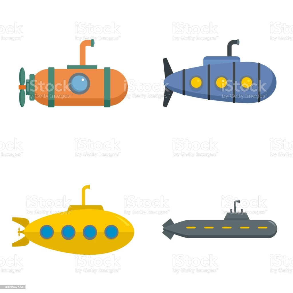 Submarine Clip Art