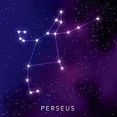 Perseus Star Constellation