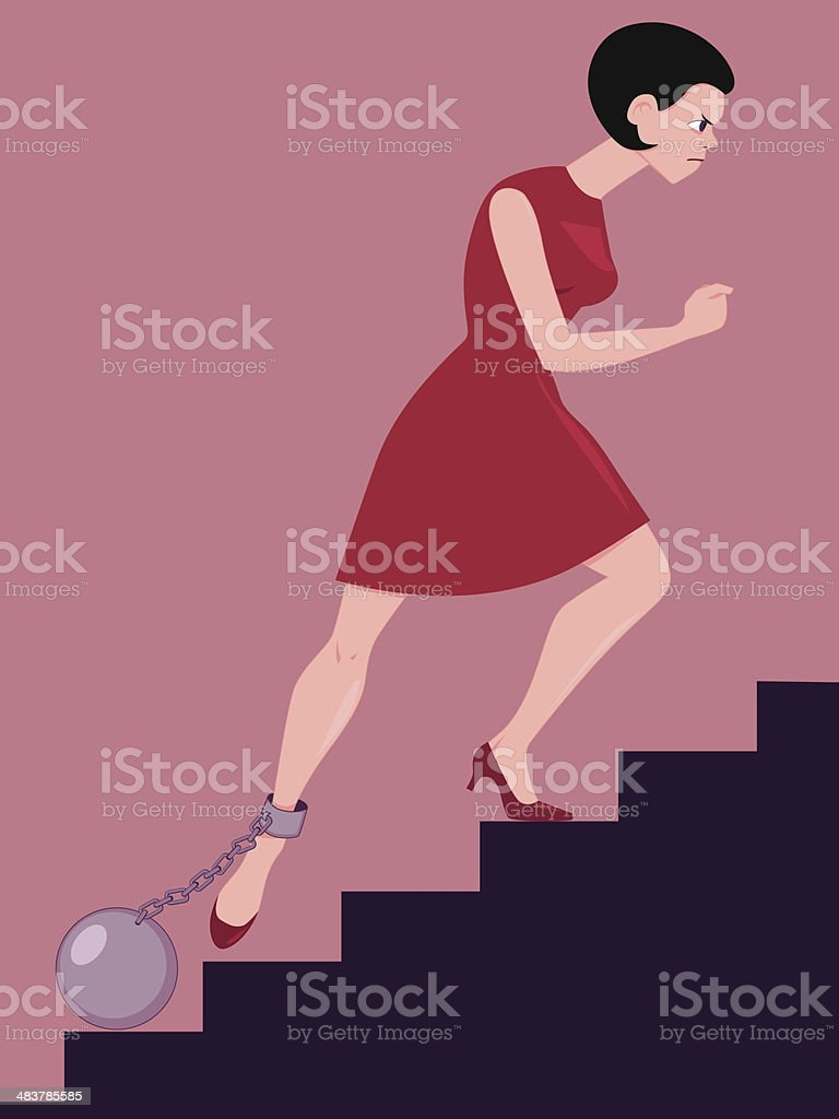 Perseverance vector art illustration