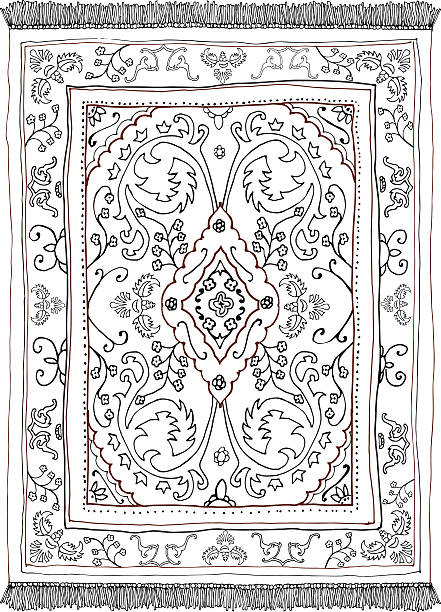 Best Rug Illustrations Royalty Free Vector Graphics