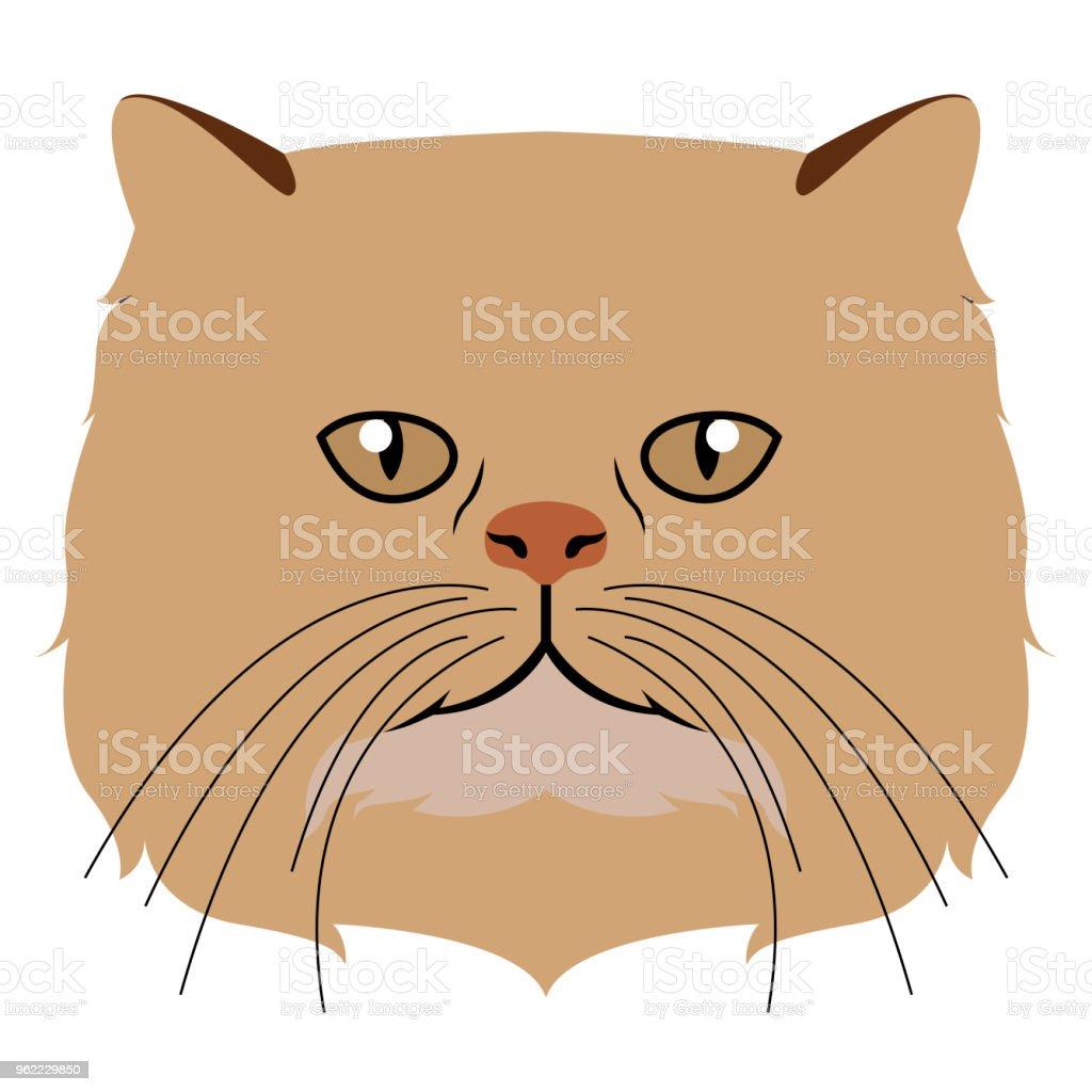 Ilustración de Avatar De Gato Persa Razas De Gatos y más banco de ...