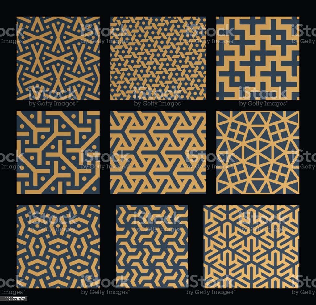 Persian Patterns Set Stock Illustration Download Image Now Istock