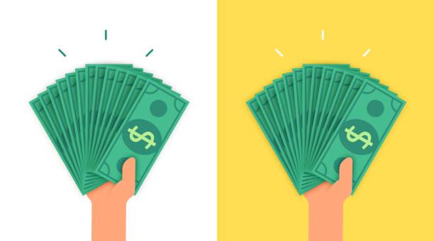 持有大量資金的人 - money 幅插畫檔、美工圖案、卡通及圖標