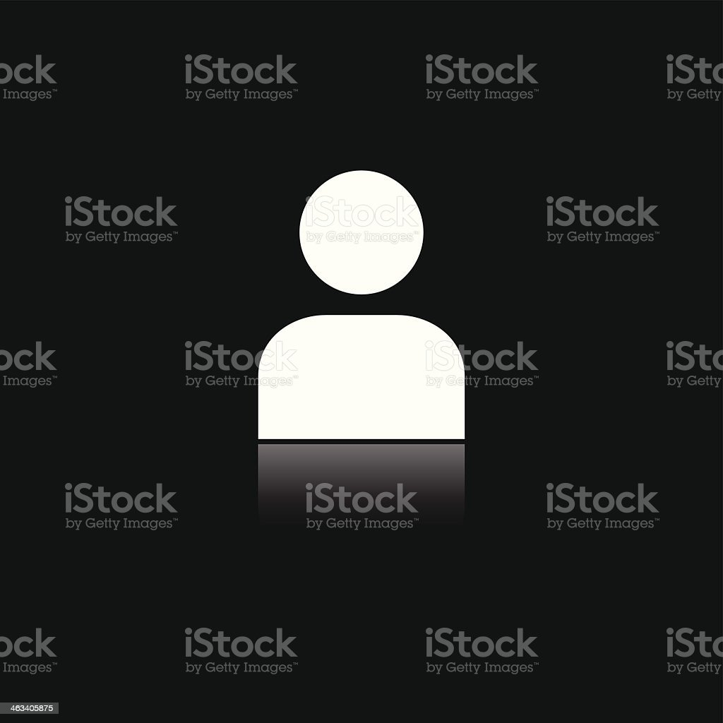 Person icon royalty-free person icon stock vector art & more images of black color