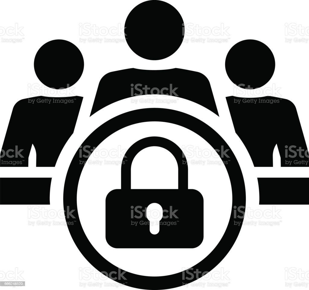 Personal data protection icon flat design stock vector art more personal data protection icon flat design royalty free personal data protection icon flat design buycottarizona Choice Image