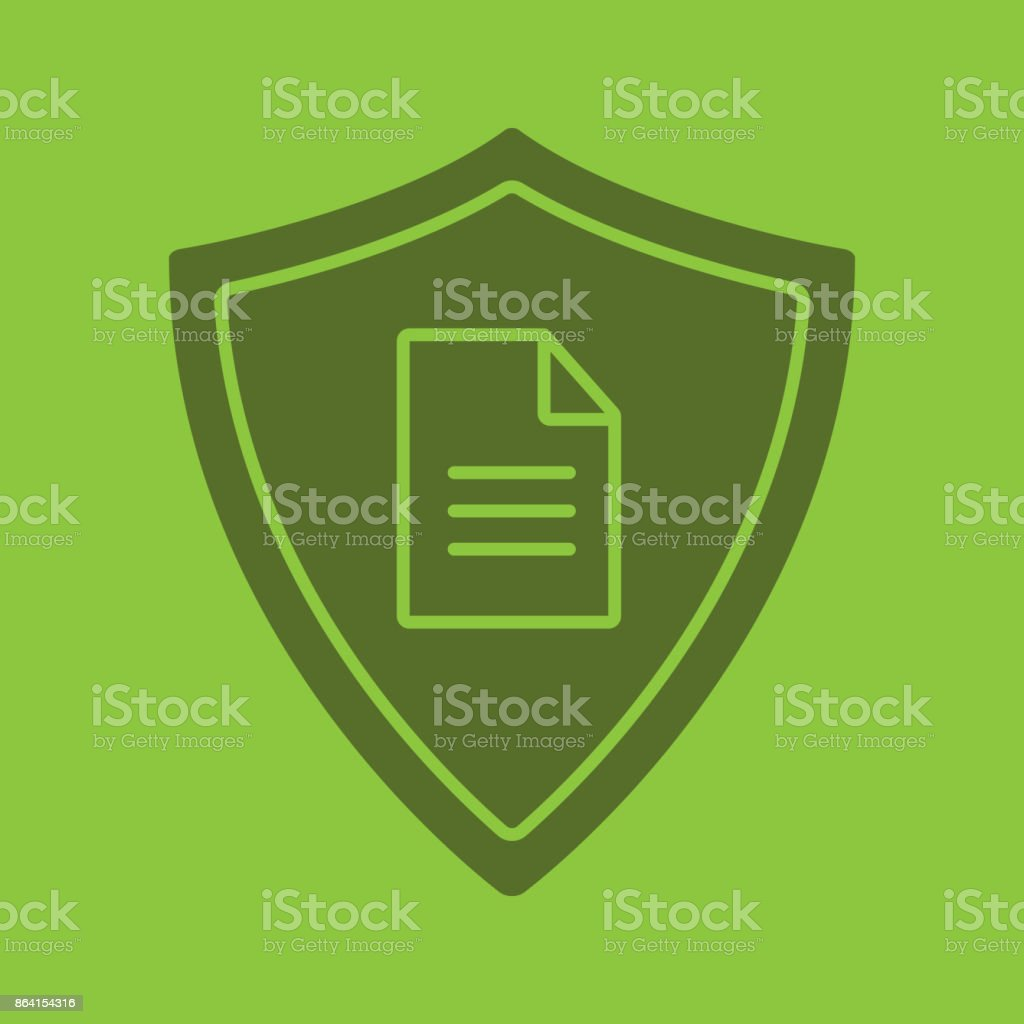 Personal document security icon royalty-free personal document security icon stock vector art & more images of agreement