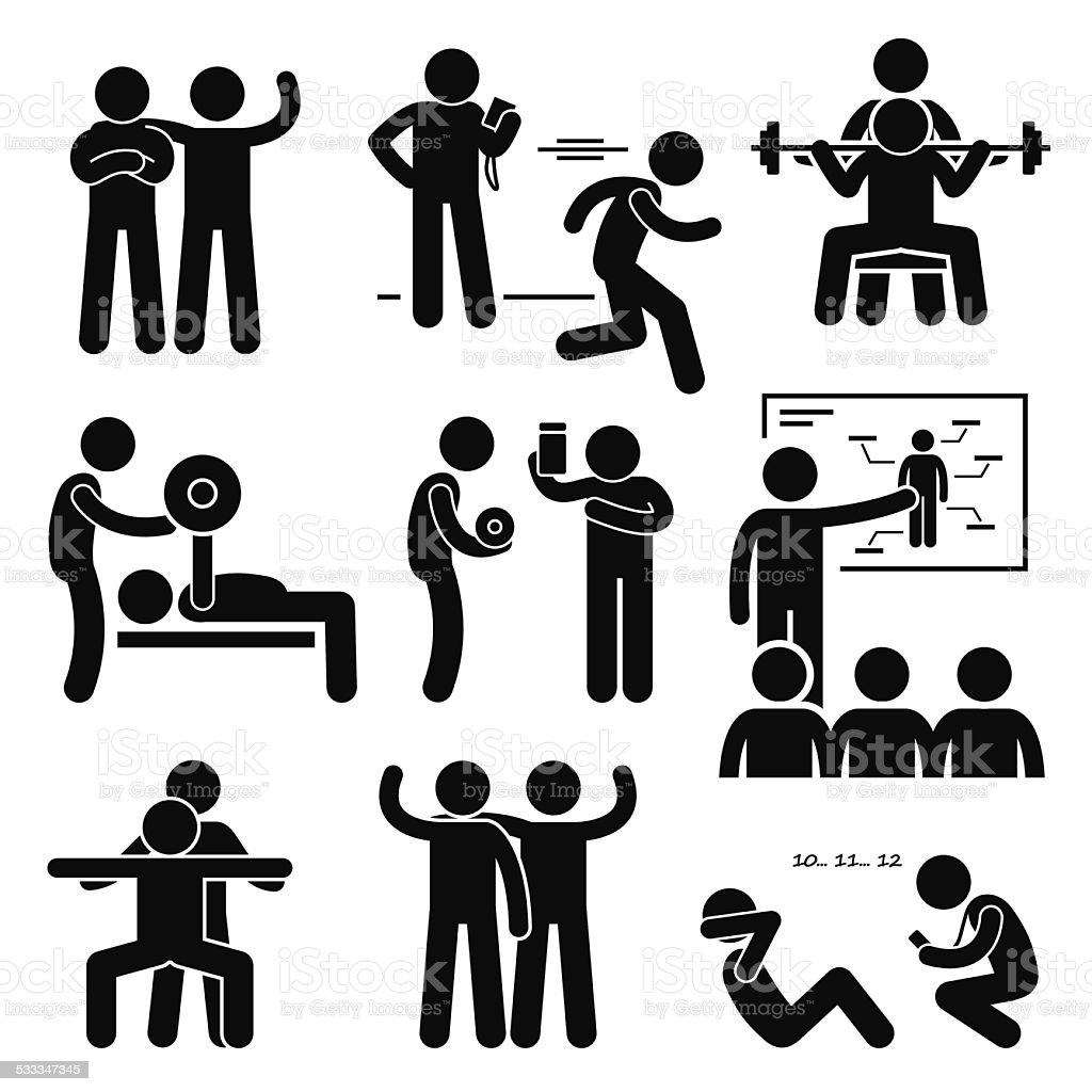 Free Gym Workout Cliparts, Download Free Clip Art, Free Clip Art on Clipart  Library