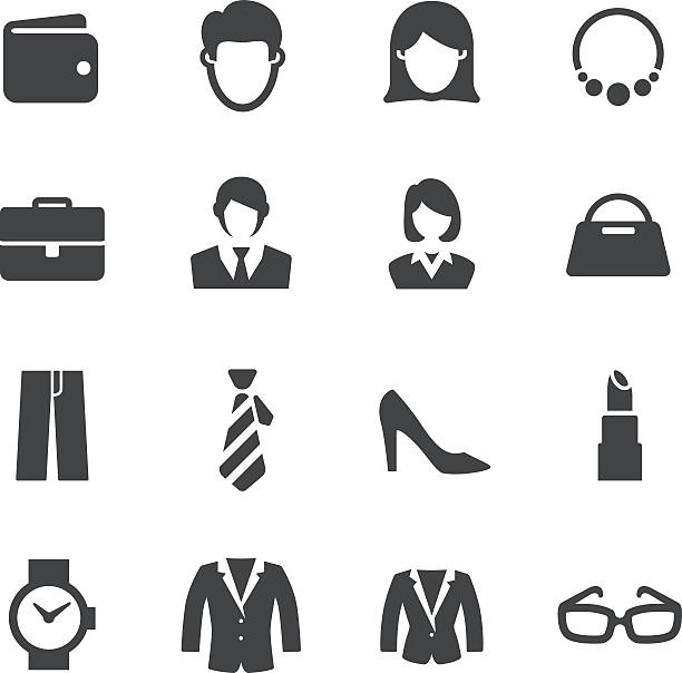 personal image icons - acme series - shoes fashion stock illustrations, clip art, cartoons, & icons