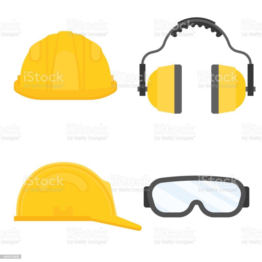 6e30ee459d972 Ilustración de Equipo De Protección Personal Para Seguridad ...
