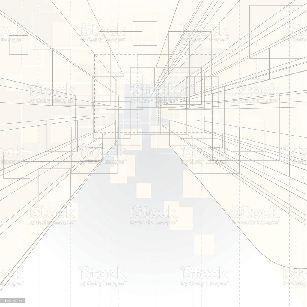 Perspective Background vector art illustration