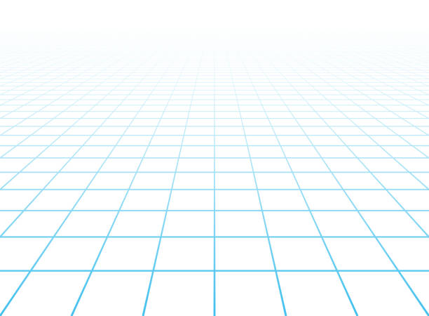 Perspective grid background Vector illustration with transparent effect. Eps10. vanishing point stock illustrations