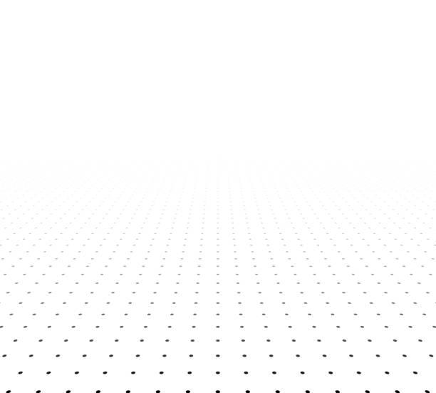 Perspektive strukturierter Oberfläche – Vektorgrafik