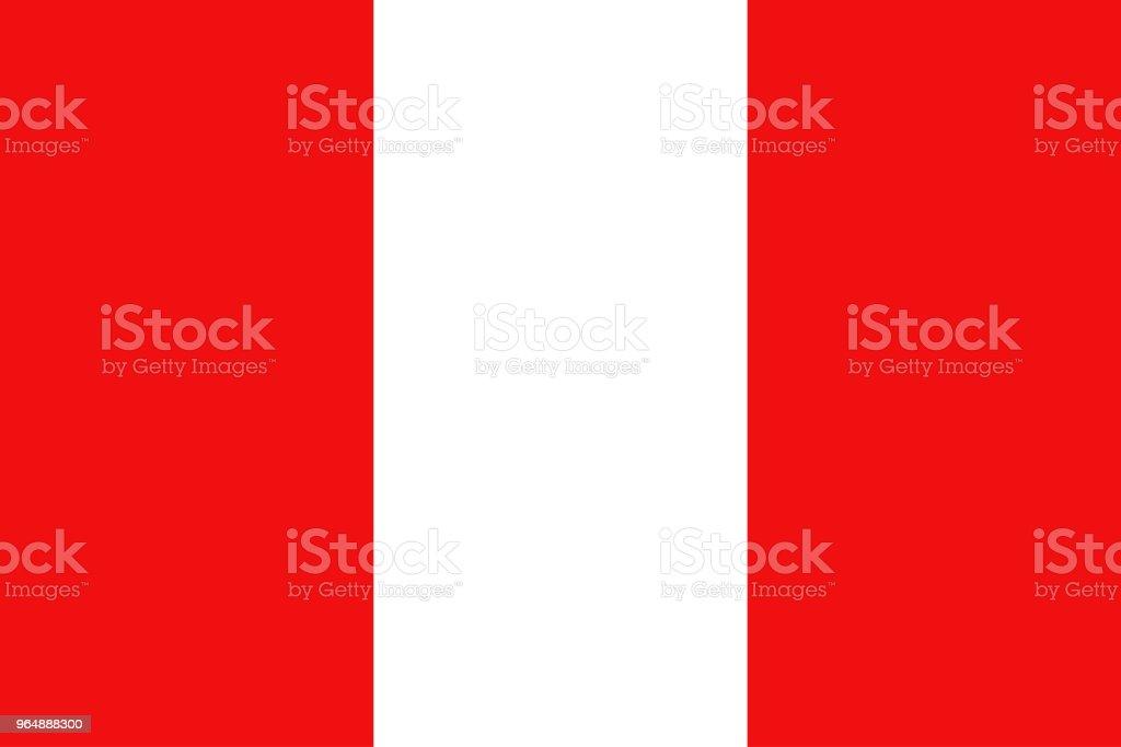 Peru flag, National flag of Peru, vector illustration royalty-free peru flag national flag of peru vector illustration stock vector art & more images of abstract