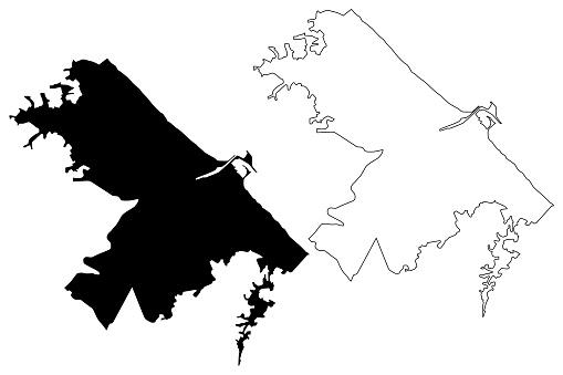 Pescara City map