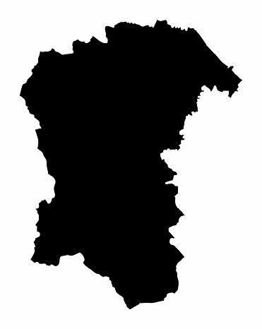 Pescara province map