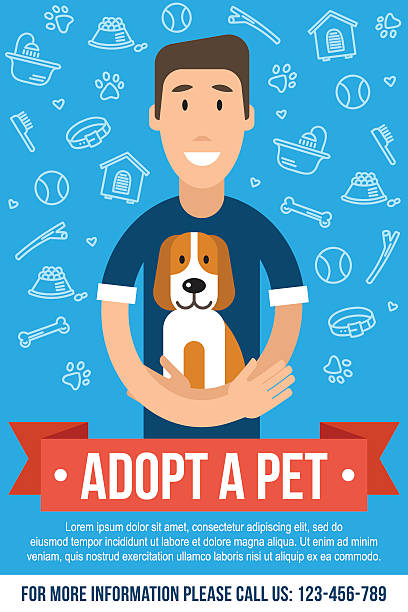 Royalty Free Pet Adoption Clip Art, Vector Images & Illustrations ...