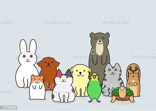 Pet animals group vector id472266460?b=1&k=6&m=472266460&s=612x612&h=wqjzcgdftjnmi6mpues0ywnnhwnk8iyrubcq2pwzlrs=