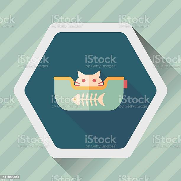 Pet bed flat icon with long shadoweps10 vector id511858454?b=1&k=6&m=511858454&s=612x612&h=d6h87he wis3v1baqd3dsfi6paij6poszlx6 j8 kic=