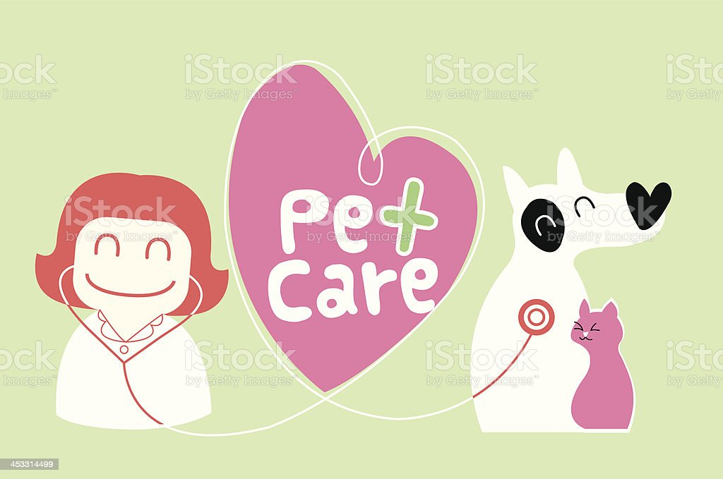 pet care illustration royalty-free stock vector art