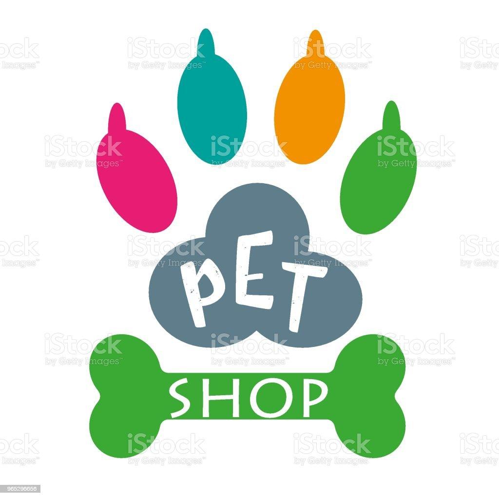 Pet care logo pet care logo - stockowe grafiki wektorowe i więcej obrazów abstrakcja royalty-free