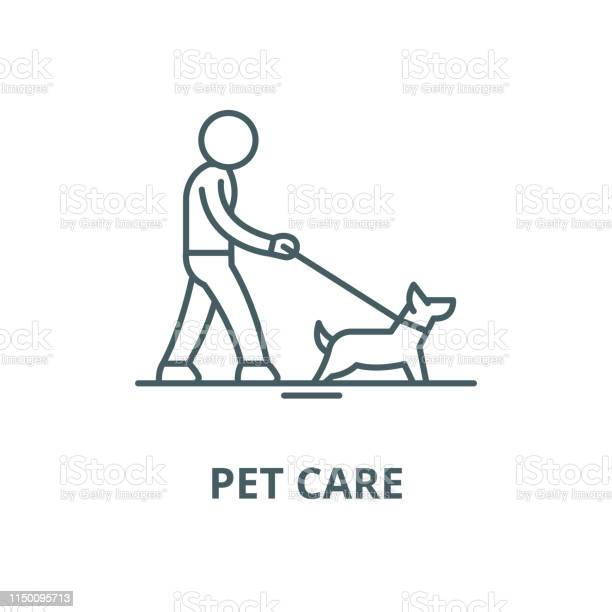 Pet care vector line icon linear concept outline sign symbol vector id1150095713?b=1&k=6&m=1150095713&s=612x612&h=8dyqrtkidjpkyyanb9dzx3t kigqs51ivabeqz12aao=
