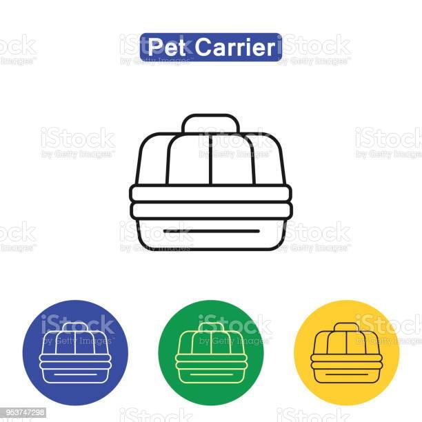 Pet carrier line icon vector id953747298?b=1&k=6&m=953747298&s=612x612&h=myr952diq jultkgxwmwbhuvnwpseguaqlspzauqovo=