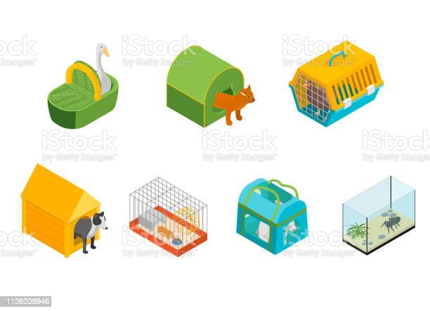 Pet carriers signs 3d icons set isometric view vector vector id1126208946?b=1&k=6&m=1126208946&s=612x612&h=tzkcktyj6h9umwhml 72mxkycoqsww0ietkp5qn9jzg=
